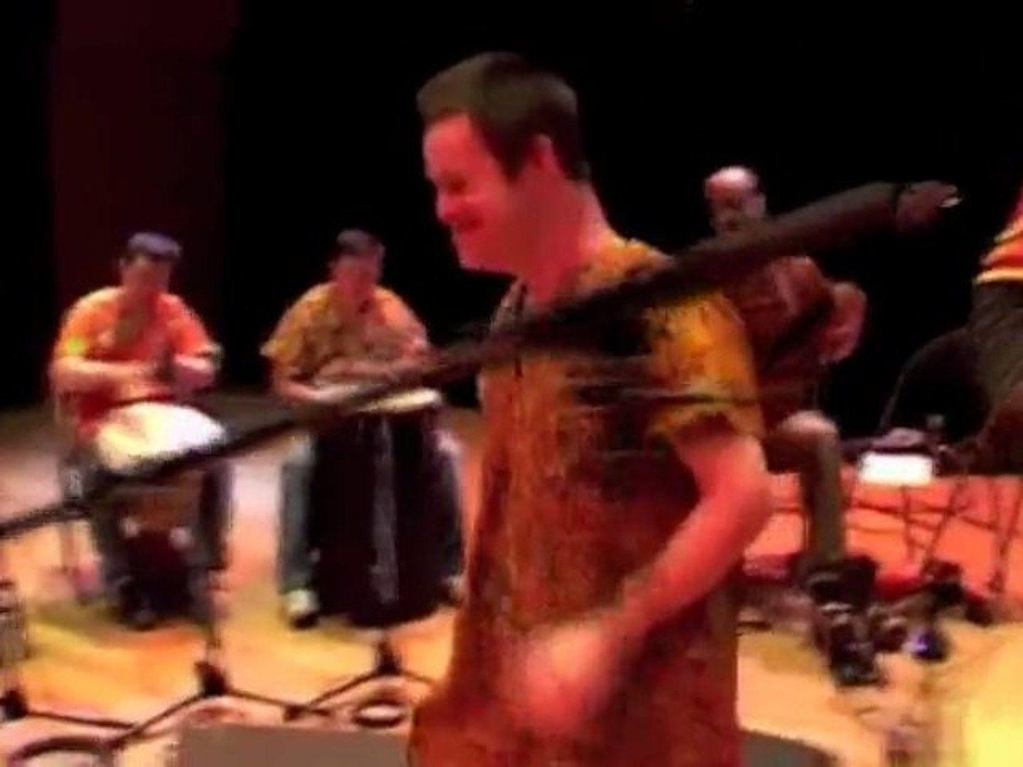 MYTHOMAN - TERANGA live (mentally disabled musicians and pro