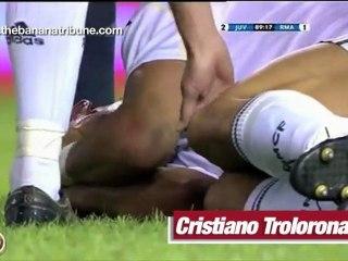Cristiano Ronaldo canta el Troloro