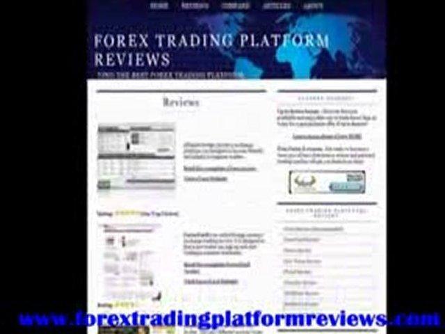 Forex Trading Platform Reviews