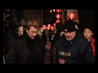johnny hallyday janvier 2009 making of la malette