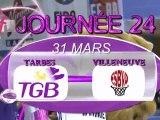 LFB J24 TARBES - VILLENEUVE D'ASCQ  dernières minutes