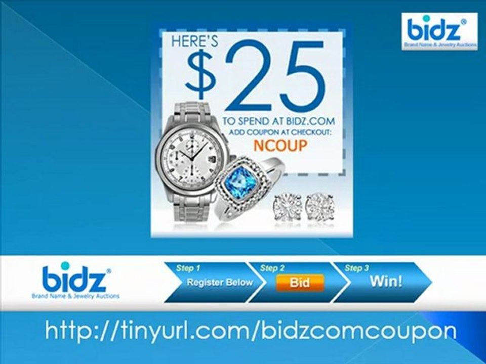 Bidz Jewelry Coupon Offer Video Dailymotion