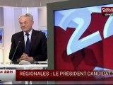 LE 22H,Jean Arthuis, président (UC) de la commission des finances au Sénat