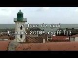 31 mars 2010 grande marée ile d'YEU