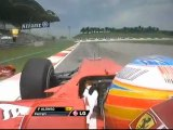 Malaysia FP2 Alonso onboard