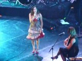 Olivia Ruiz concert peace one day Elle panique