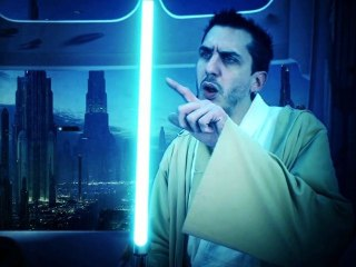 STAR WARS : LUCIANO dans LEARN TO BE A JEDI