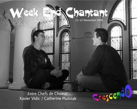 Interview de Xavier Vidic par Catherine Plutniak - Crescendo