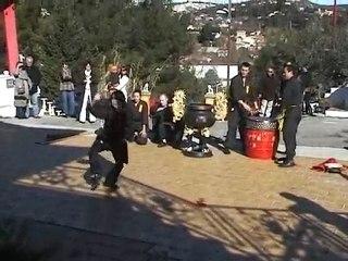 [Nam-Ho-Quyen] Démonstration de Viet Vo Dao à la pagode Phap