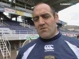 Rugby : ASM Clermont Auvergne - Saint Denis (l'avant match)