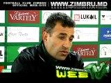 Conferinta de presa la finele meciului Zimbru-Dinamo 2-0