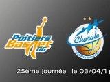 Basket, Pro A : Poitiers - Roanne (2009-2010)