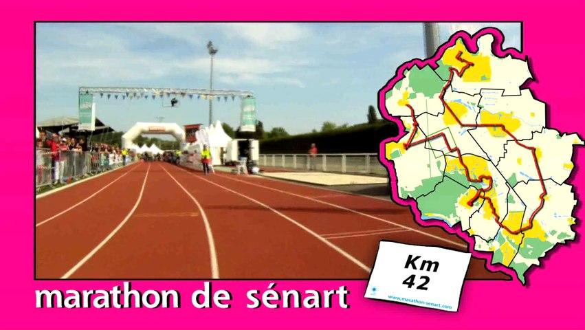 Parcours du Marathon de Sénart 2014