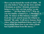 Islamic Questions-44 on Befriending Non Muslims Closely