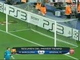 FC Barcelona - Arsenal FC 6-4-2010 FULL HIGLIGHTS 3-1