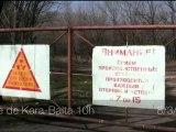 Déchets radioactifs en bordure de Kara-Balta