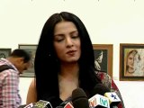 Celina Jaitly At Bollywood Exhibition