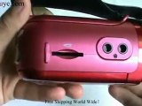 2GB 2.4 Inch 5.0 MP Digital Camcorder MP3 Mp4 Player Red