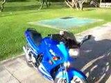 2007 Kawasaki Ninja 250r in Candy Plasma Blue