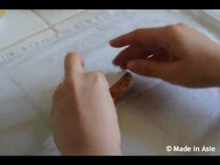 Technique pour rouler les nems (Cha Gio)