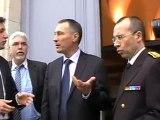 Jean-Marie Bockel en visite au palais de justice de Vesoul
