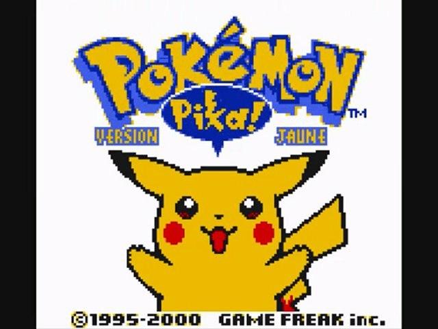 Pokémon jaune 1) Pika pika!!!