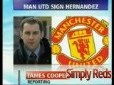 Manchester United sign Mexican striker Javier Hernandez