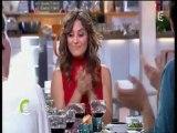 Laetitia Milot avec Antonio magicien mentaliste