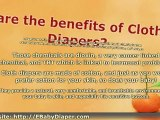 Baby Cloth Diapers - Cloth Diapers VS Disposable Diapers