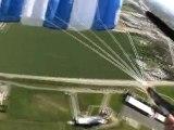Saut en parachute - chute libre en tandem by BB