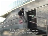 Parkour moves demonstrated by UK traceurs, freerunning
