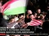 Triunfa derecha y avanza extrema derecha en Hungría