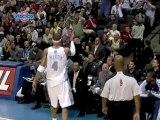 Kenyon Martin throws back the shot, then Grizzlies coach Lio