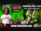 Pro Wrestling Report - Rowdy Roddy Piper Interview 4/7/2010