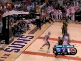 Jared Dudley drives baseline and finishes with a flush.