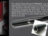 E-Cig Review Wicked Tornado JOYE EGO Titan JOYE510 Atomizer