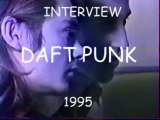 DAFT PUNK interview en Francais (Canal+ 1995)