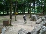 """Momo, son bike et """"Le saut du trou""""..."""