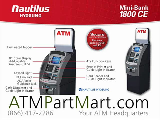 Hyosung 1800 CE ATM Machine