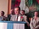 Bruno Gilles  décoré de la Légion d'honneur