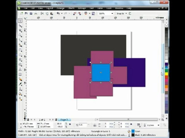 CorelDraw basics tools