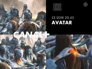 Bande annonce AVATAR Canal+