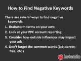 Using Negative Keywords for Better PPC Results - Kutenda Tip