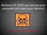 How To Remove Antivirus PC 2010 - Antivirus PC 2010 Removal