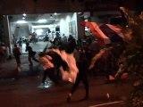 Thaïlande: heurts violents dans le quartier financier de Bangkok