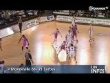 Mondeville tombe contre Tarbes (Basketbbal F L1)