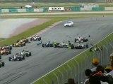 A1GP 2009 Malaisie Start Big Crash