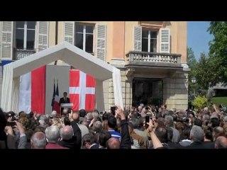 Nicolas Sarkozy à Chambéry