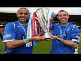 algerien Madjid Bougherra CHAMPION ECOSSE Glasgow Rangers