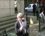 Journée de la déportation 25 avril 2010 - Paris 15ème